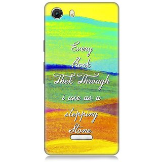 7Cr Designer back cover for Micromax Unite 3 Q372
