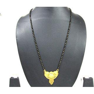Golden Pendant Mangalsutra Necklace