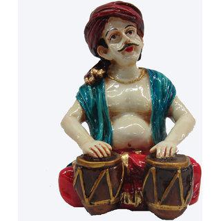 Earth Tabla Man Punjabi Musician Statue