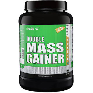 Medisys Double Mass Gainer - Banana - 1.5 Kg
