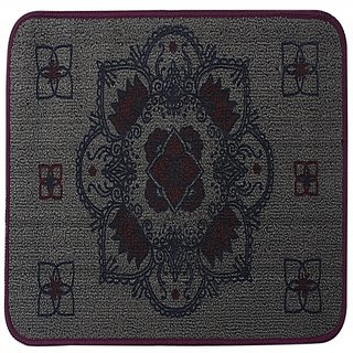 Saral Home Premium Quality Printed Polyester Door Mat- 40x60 cm