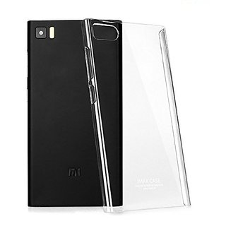 Zenolisa MI3 Transparent Silicon Back Case Cover