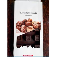 Set Of 2 - Best Quality Silicone Chocolate Mould