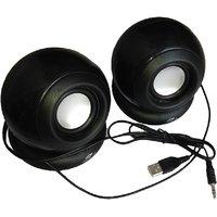 GurujiMart Tera byte TB-TB-008T Portable Laptop/Desktop Speaker Black