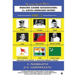 Mahatma Gandhi Assassination J.L. Kapur Commission Report - Part - 2