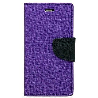 CHL Imported Mercury Fancy Wallet Dairy Flip Case Cover for Asus ZenFone 2 - Purple