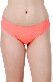 Fasense Orange Solid Hipster Panty