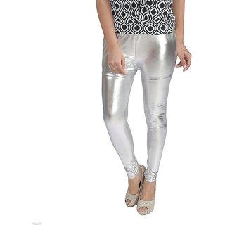 women leggings/ shimmer leggings/Silver leggings/FREE SIZE/ PLUS SIZE ladies shimmer legging/leggings