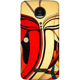 Motorola Moto Z Play Printed back cover