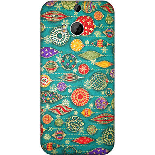 HTC One M8 Printed back cover