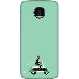Motorola Moto Z Play Printed back cover