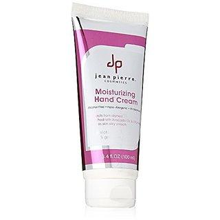 Jean Pierre Cosmetics Moisturizing Hand Cream, 3.4 Fluid Ounce