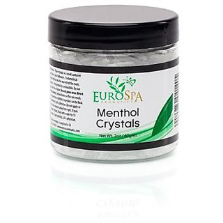 Menthol Crystals Natural Room & Spa Quality Freshener - 100% Pure and Natural from Peppermint 2oz 3 Pack