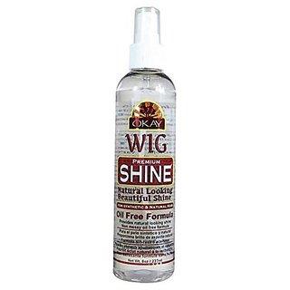 Okay Oil Free Formula Wig Shine, 8 Ounce
