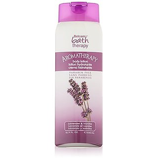Belcam Bath Therapy Body Lotion, Lavender and Vanilla, 16.8 Fluid Ounce