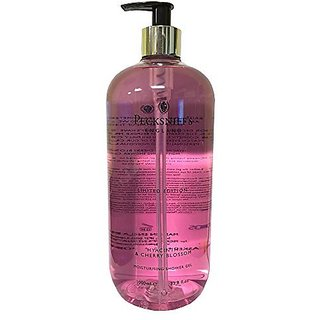 Pecksniffs Hyacinth and Cherry Blossom Moisturizing Shower GEl 33.8 Oz