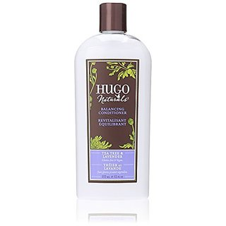 Hugo Naturals Balancing Conditioner, Tea Tree and Lavender, 12-Ounce