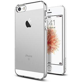 iPhone SE Case, Spigen [Thin Fit] Exact-Fit [Crystal Clear] Premium Matte Finish Hard Case for iPhone 5 / 5s / iPhone SE (2016) - (041CS20246)