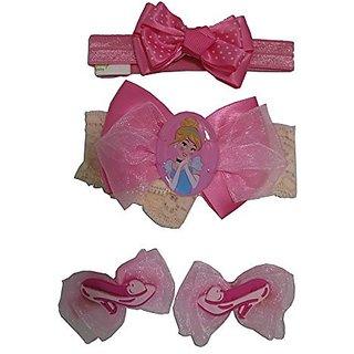 Disney Princess Cinderella Hair Set [5012] (pink)