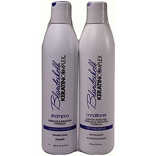 Keratin Complex Blondeshell Shampoo & Conditioner Duo Set, 13.5 ounce each