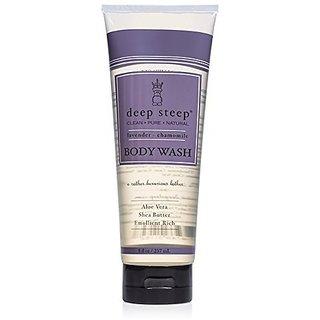 Deep Steep Body Wash, Lavender Chamomile, 8 Ounce