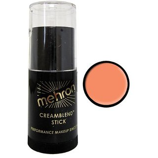 Mehron Cream Blend Makeup .75 oz Orange