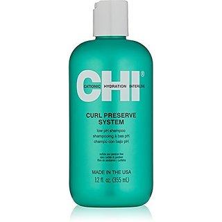 CHI Curl Preserve Shampoo, 12 fl. oz.