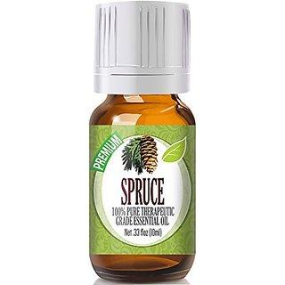 Spruce 100% Pure, Best Therapeutic Grade Essential Oil - 10ml
