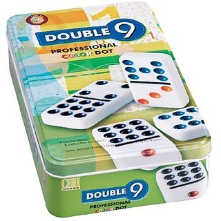 Miles Kimball Double Nine Domino Set