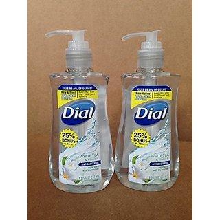 Dial Liquid Hand Soap 9.375 Fl Oz (White Tea & Vitamin E, 2)