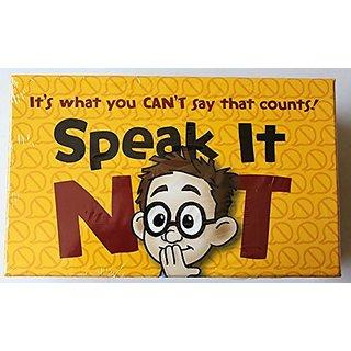 Speak It Not