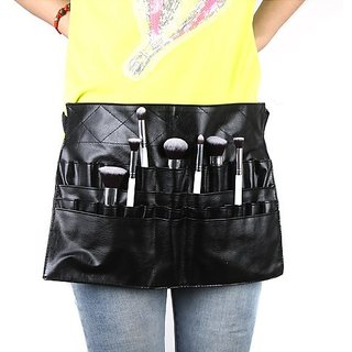 Docooler PVC Professional Cosmetic Makeup Brush Apron Bag Artist Belt Strap Holder (Size2)