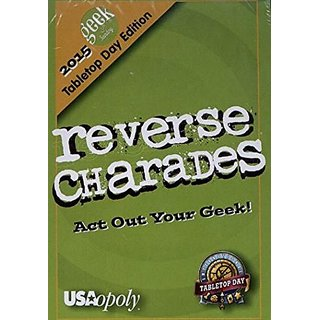 Reverse Charades - Geek & Sundry Promo Deck - 2015 International TableTop Day Exclusive
