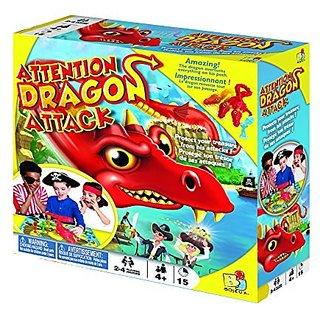 Attention Dragon Attack, Bilingual Version, Board Game