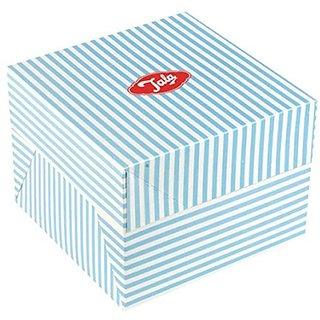 Tala Candy Striped Cake Box, 25cm, Blue