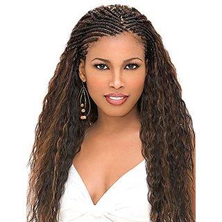 Sensationnel Kanekalon Premium X-Pression Ultra Braid Hair Extension/Weave - ! Black 82