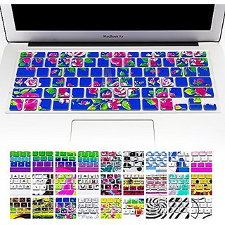 Allytech(TM) Keyboard Cover Silicone Skin for MacBook Pro 13
