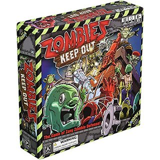 Zombies Keep Out Board Game