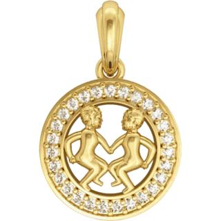 Gemini Charm in Gold