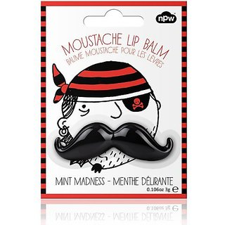 Black Mint Madness Mustache Lip Balm!