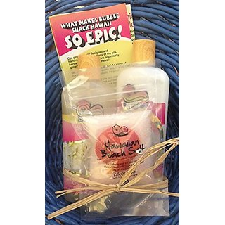 Hawaiian Made Body Wash, Lotion and Bath Salt - Pikake Lei, Sulfate and Paraben Free