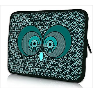 Laptop Sleeve, UrSpeedtekLive Owl Pattern Neoprene Polyester Fiber Protective Pouch Bag Cover Case for 12.9 iPad Pro / 13.3 Inch Laptop / Notebook / MacBook Air / MacBook Pro