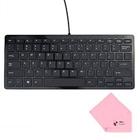 Boxcave 78 Key Wired USB Mini Slim Keyboard For PC, Mac