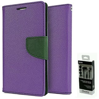 NEW FANCY DIARY FLIP CASE BACK COVER FOR Micromax Canvas Spark Q380
