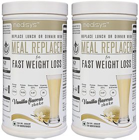 Medisys MEAL REPLACER-VANILLA COMBO
