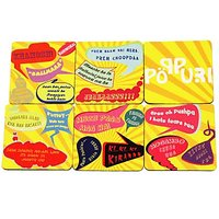 Bollywood Tadka Coasters Set Of 6