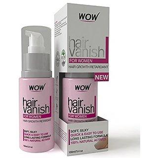Buy Wow Hair Vanish For Women Best Hair Retardant 100ml Long Lasting Hair Removal For Women Online 899 From Shopclues