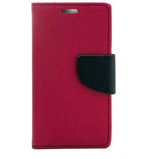 New Mercury Goospery Fancy Diary Wallet Flip Case Back Cover for  HTC Desire 620  (Pink)
