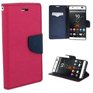 New Mercury Goospery Fancy Diary Wallet Flip Case Back Cover for  Samsung Galaxy J2 (2016)  (Pink)