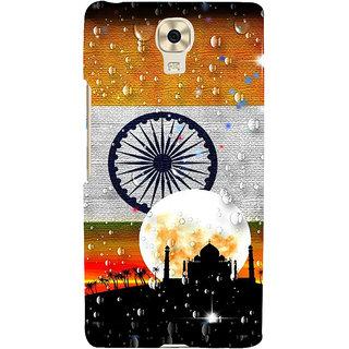 3D Designer Back Cover for Gionee Marathon M6 :: Indian Flag  ::  Gionee Marathon M6 Designer Hard Plastic Case (Eagle-004)